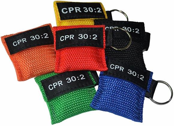 Keychain CPR Mask