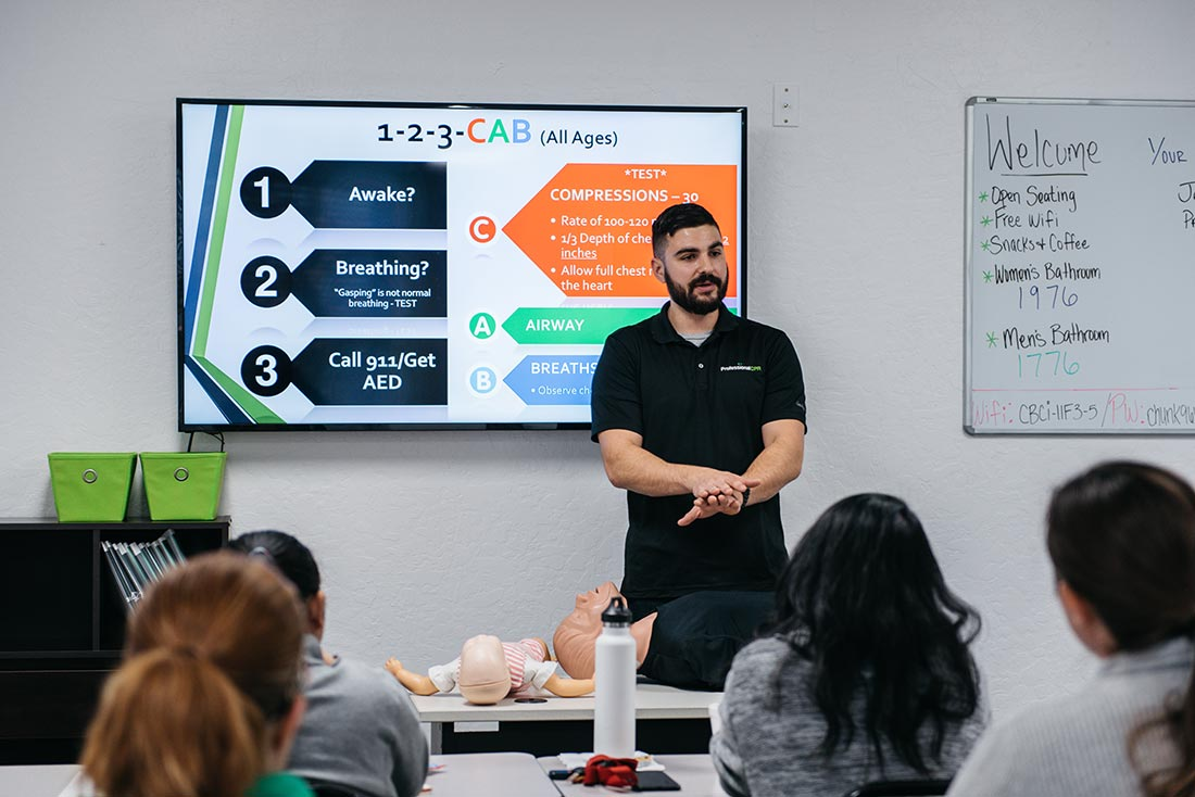 Professional CPR Class Policies