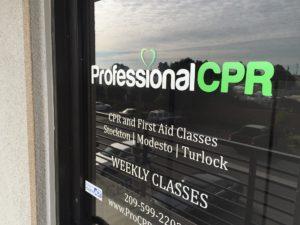 CPR Classes Modesto Front Door